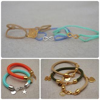 Armbänder mit Symbolen