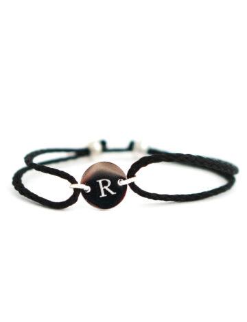 Filigranes Armband mit Initialien oder Datum