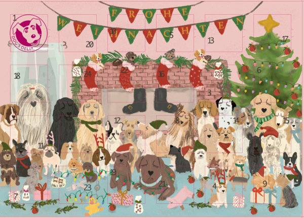 Adventskalender Dogs Deli
